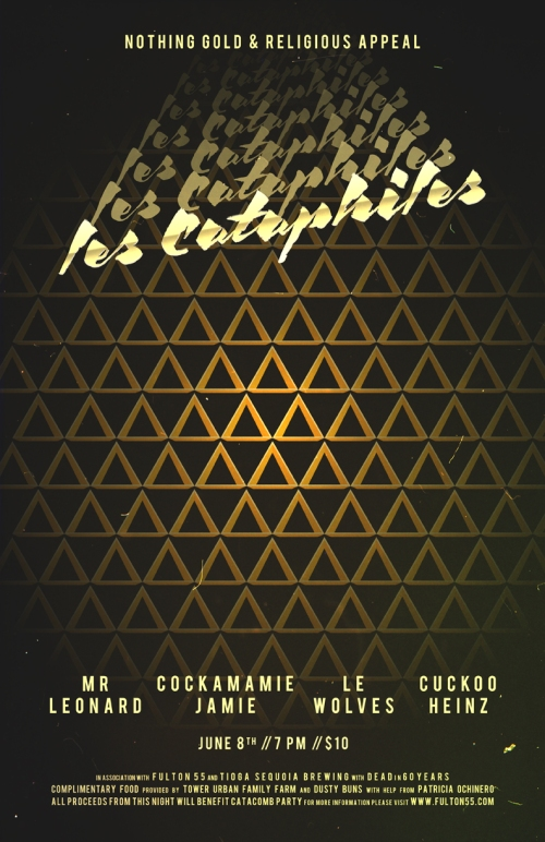 Nothing Gold & Religious Appeal presents Les Cataphiles