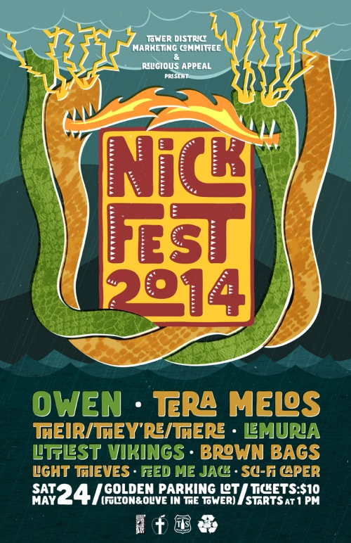 Nickfest Announcement #2: Owen and Tera Melos added